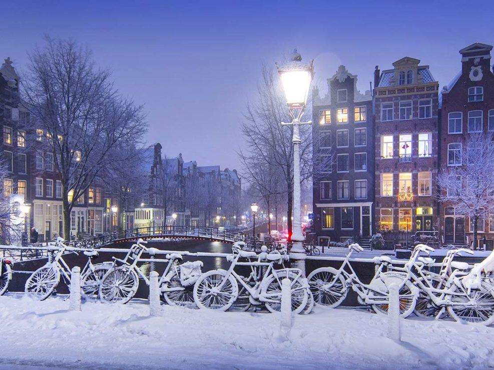 panoramafoto's van amsterdam en omgeving
